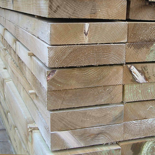 Timber Edging Boards for garden borders - Lanscaping Timber